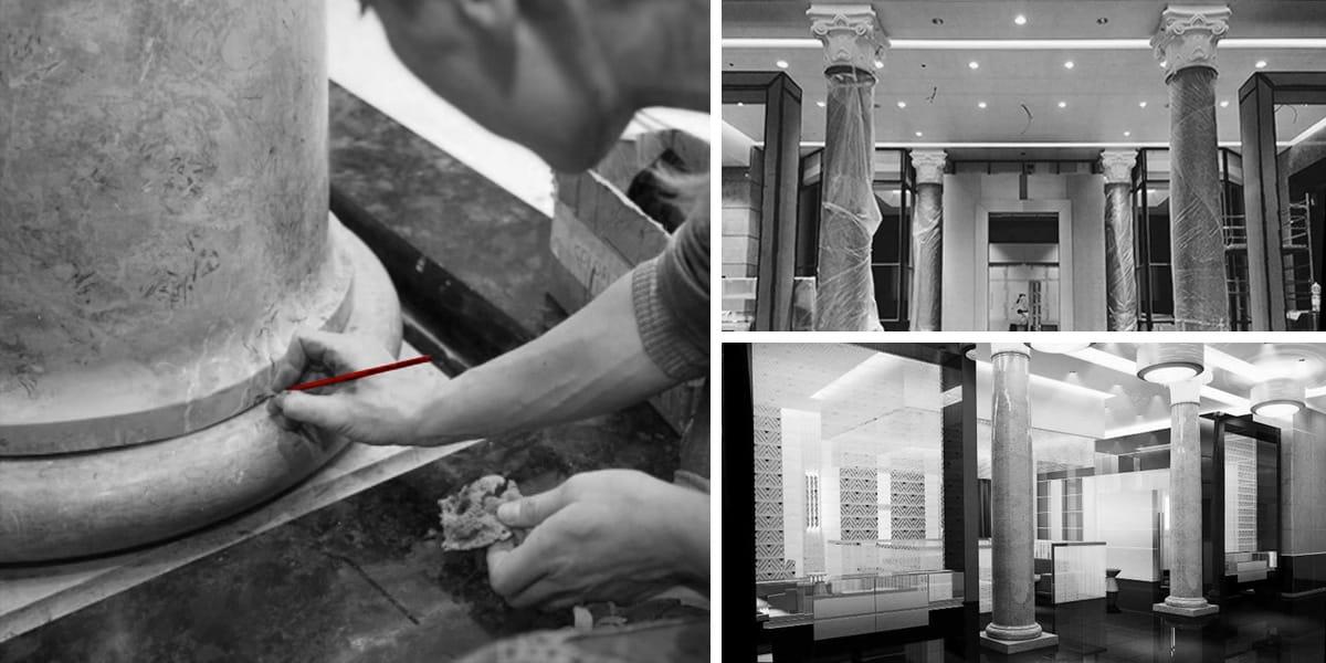 Snagger- lavoro-interior- restauro-preciso-marmi