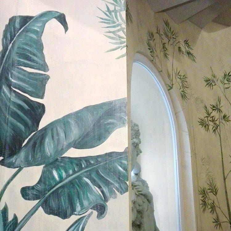 Decorazioni floreali, dipinti murali e affreschi sono le nostre lavorazioni più ricercate